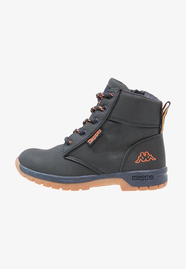 Kappa - CAMMY  - Hiking shoes - navy/orange