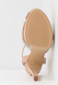 ALDO - LACLABLING - Sandaler med høye hæler - bone - 5