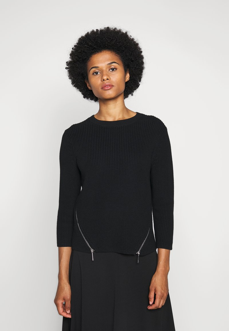 HUGO - SERLINY - Jumper - black