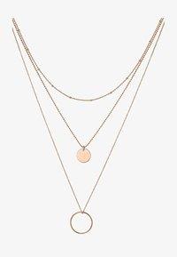 QOOQI - Necklace - rosegold-coloured - 1