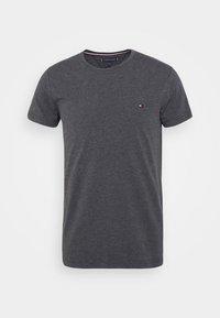 Tommy Hilfiger - STRETCH SLIM FIT TEE - T-shirt basic - grey - 3