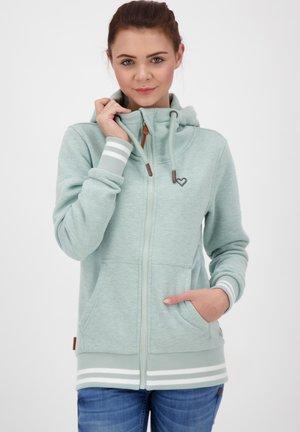 YASMIN - Zip-up hoodie - light blue