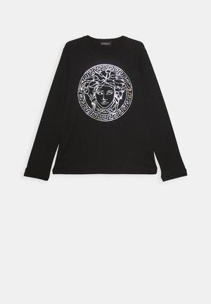 MAGLIETTA MANICA LUNGA - T-shirt à manches longues - nero/argento