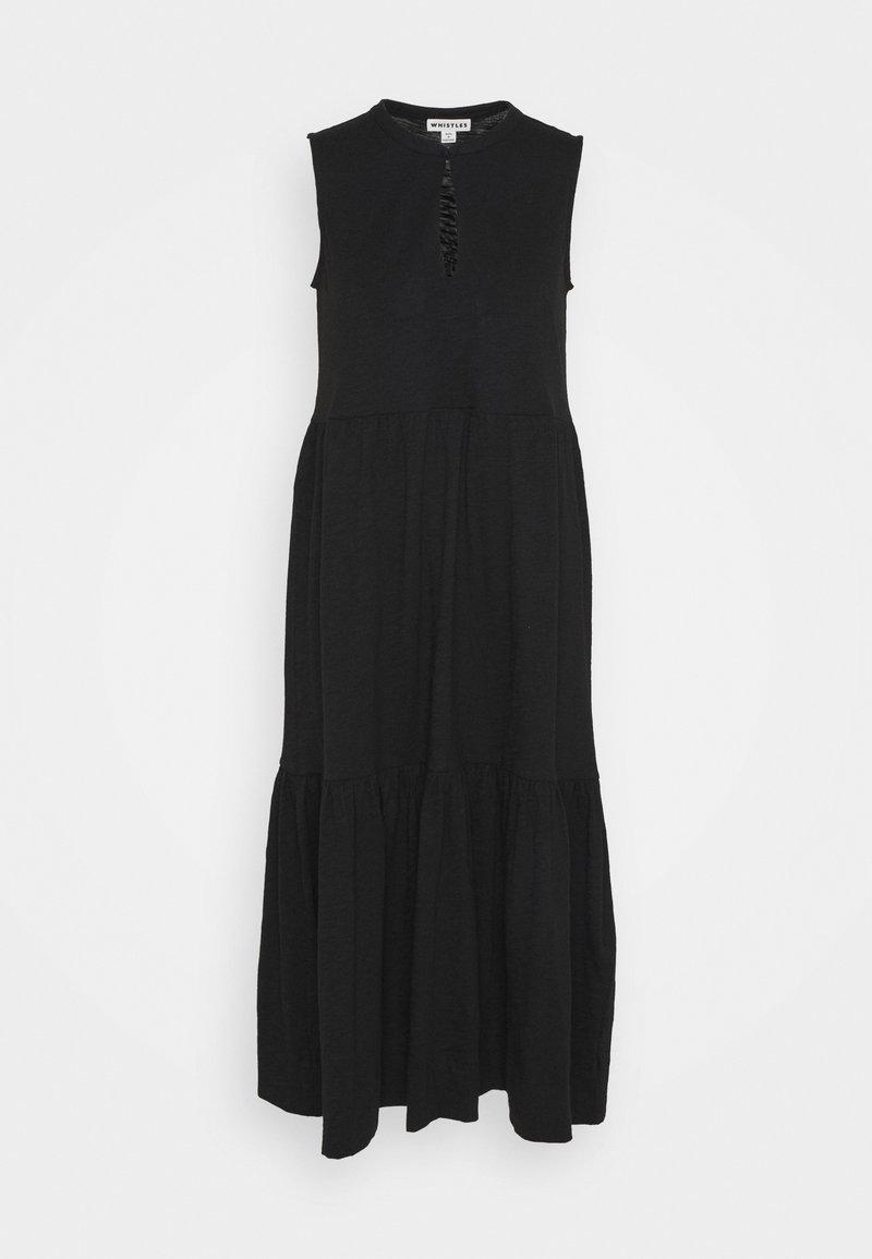Whistles - TIERED DRESS - Maksimekko - black