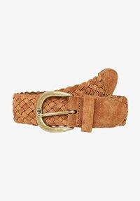Vero Moda - Braided belt - cognac - 1