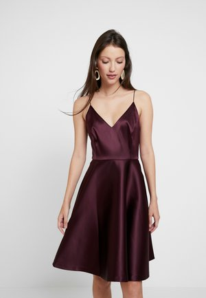 DIXIE MINI PROM - Cocktail dress / Party dress - winter fig