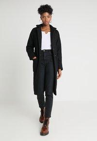 Noisy May - NMZOE  - Classic coat - black - 1