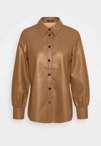 Opus - FEDA - Button-down blouse - peanut - 4