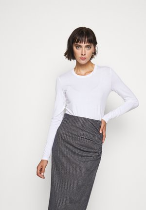 MULTIE - Long sleeved top - white