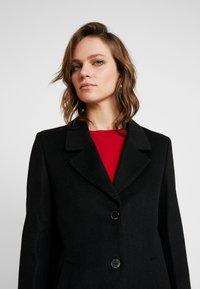 Selected Femme - SLFSASJA COAT - Classic coat - black - 3