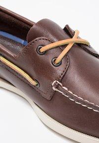 Sperry - Buty żeglarskie - classic brown - 5
