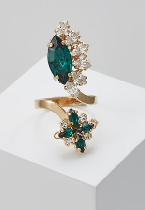 Ring - green/gold