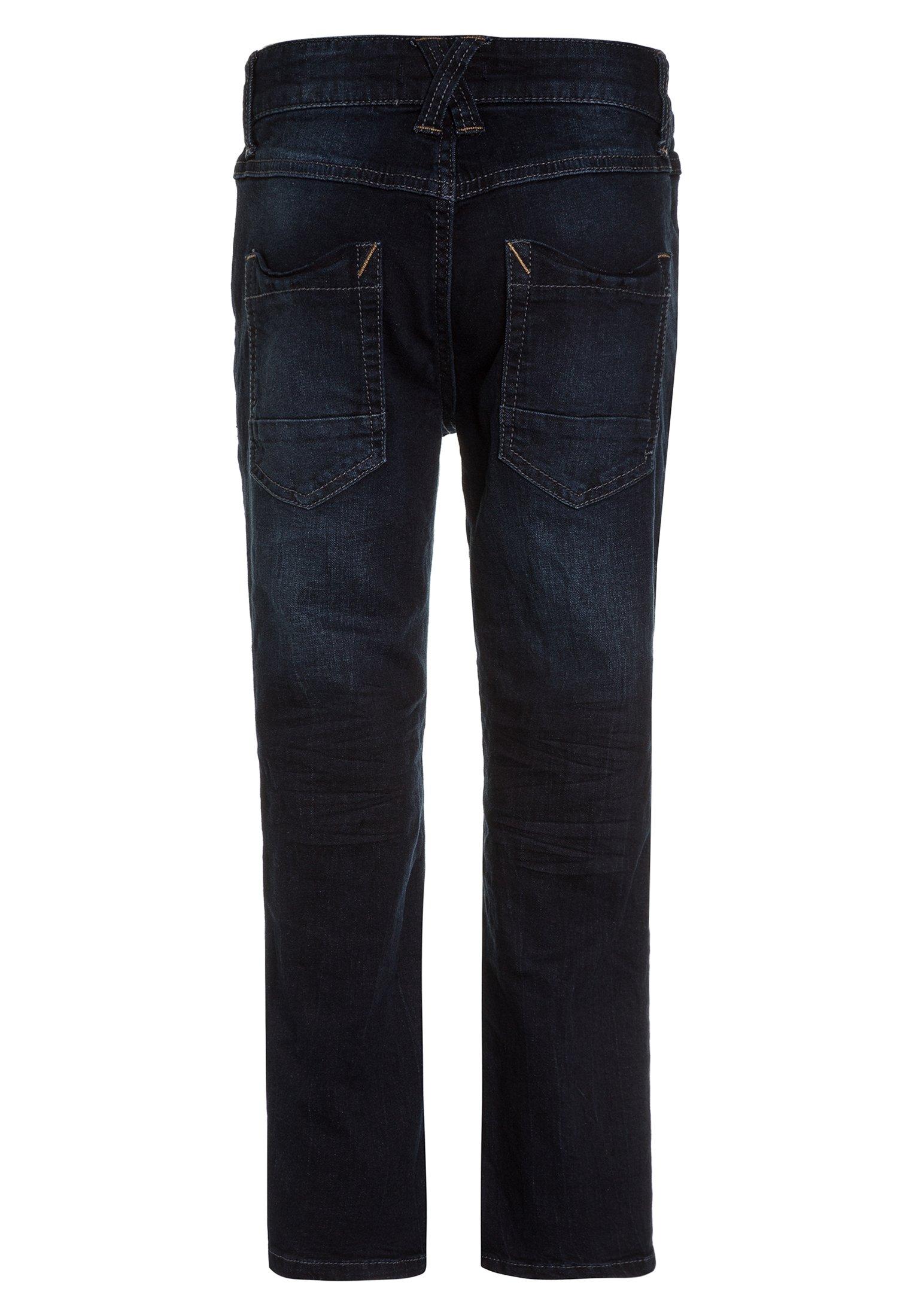 Kinder HOSE - Jeans Straight Leg - blue denim