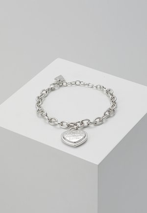 FOLLOW MY CHARM - Armbånd - silver-coloured