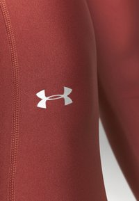 Under Armour - HI RISE LEGGING - Trikoot - cinna red - 5
