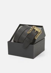 Versace Jeans Couture - CINTURA UNISEX - Pásek - nero - 2
