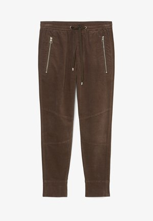 Tracksuit bottoms - dark chocolate