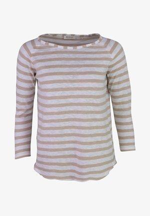 Long sleeved top - creme - beige