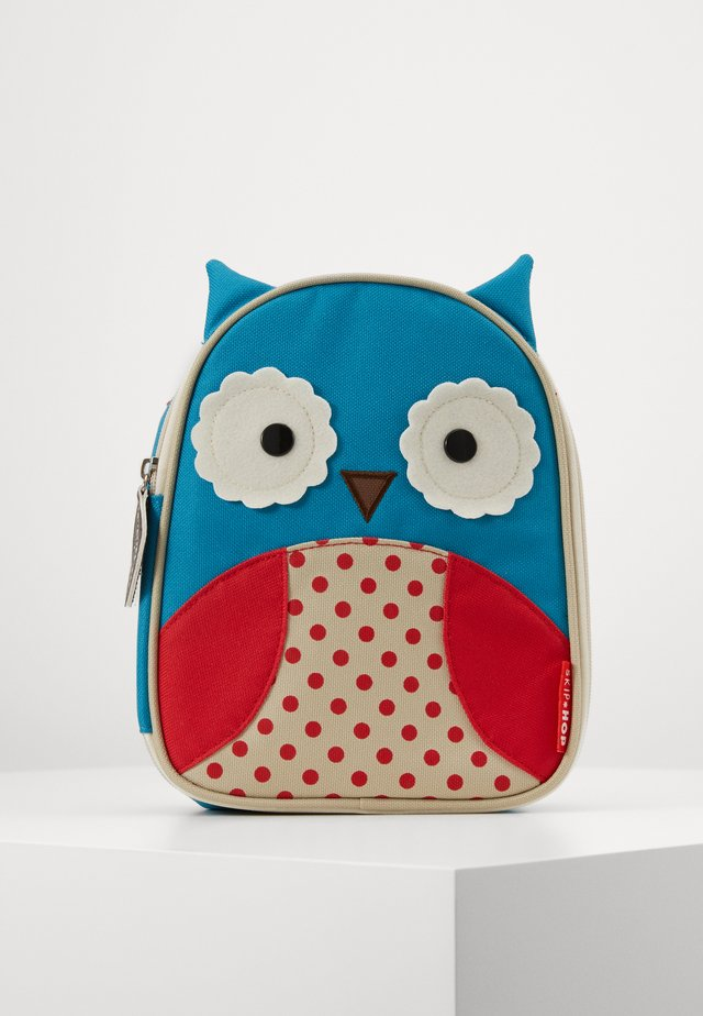 ZOO LUNCHIES OWL - Kabelka - blue, red
