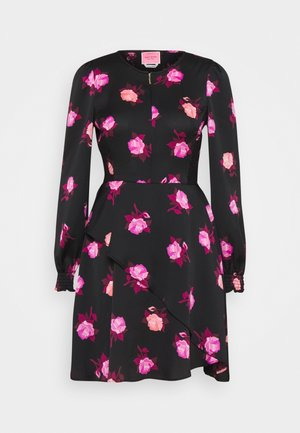 ROSE GARDEN DRESS - Denní šaty - black