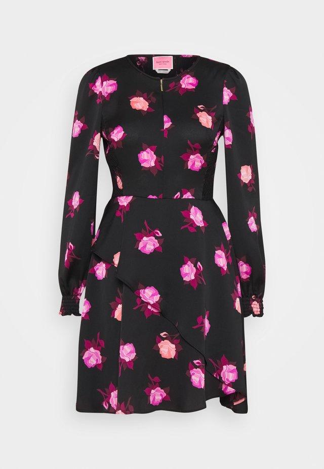 ROSE GARDEN DRESS - Day dress - black