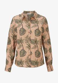 Alba Moda - Button-down blouse - karamell khaki - 5