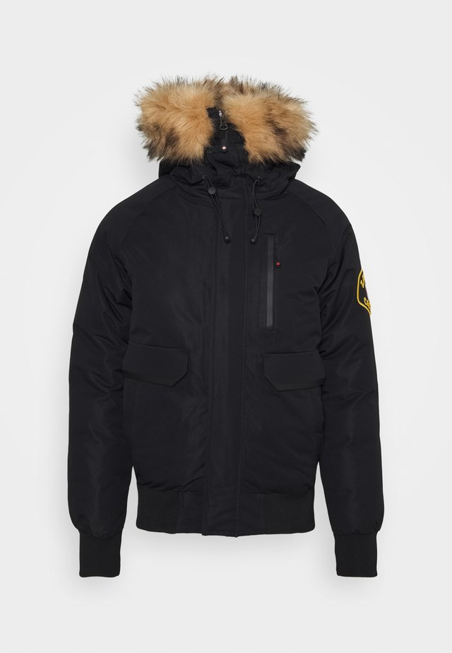 CANADA ABELLI TECH - Winter jacket - black