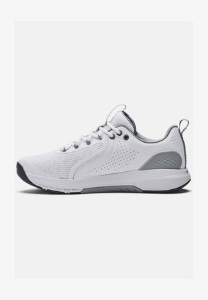 CHARGED COMMIT TR 3 - Zapatillas de entrenamiento - white/gray