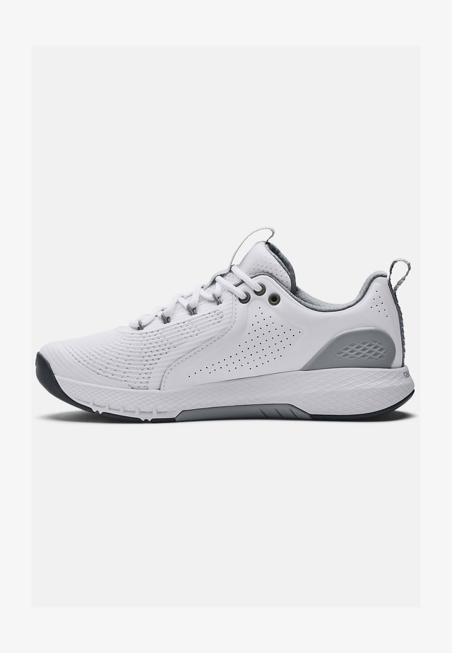 CHARGED COMMIT TR 3 - Sportschoenen - white/gray