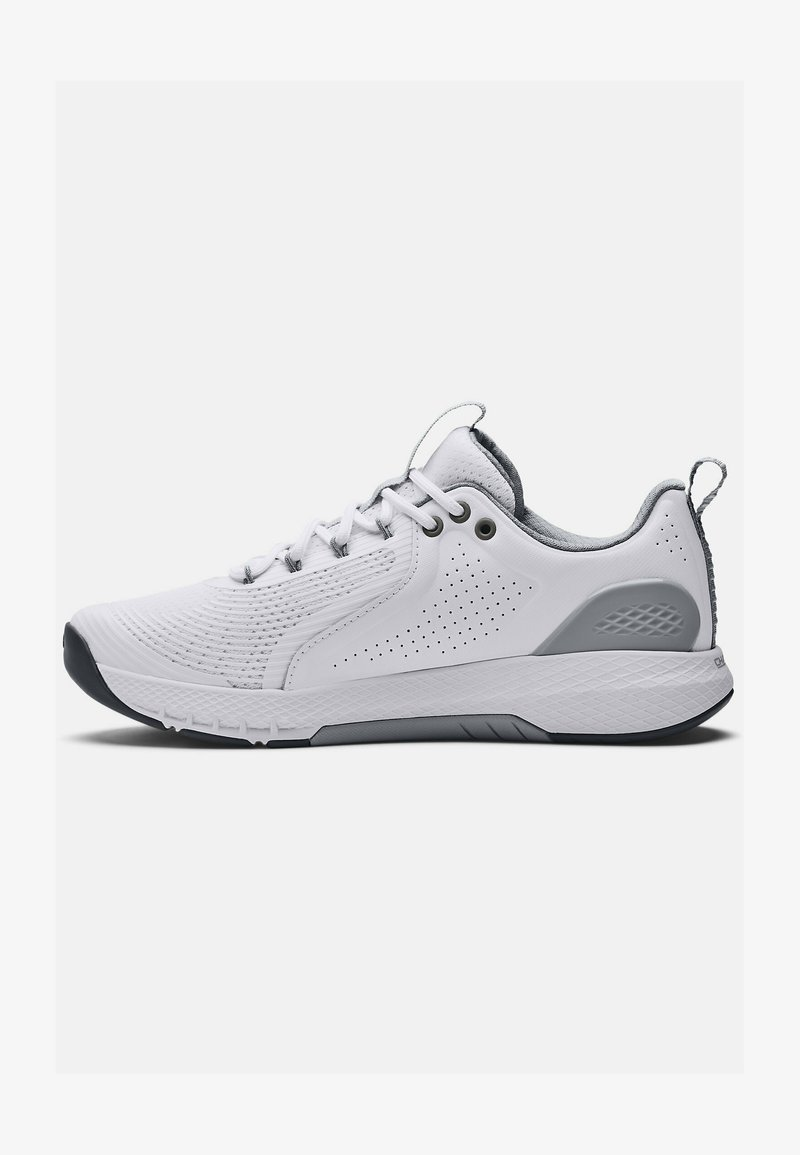 Under Armour - CHARGED COMMIT TR  - Træningssko - white/gray
