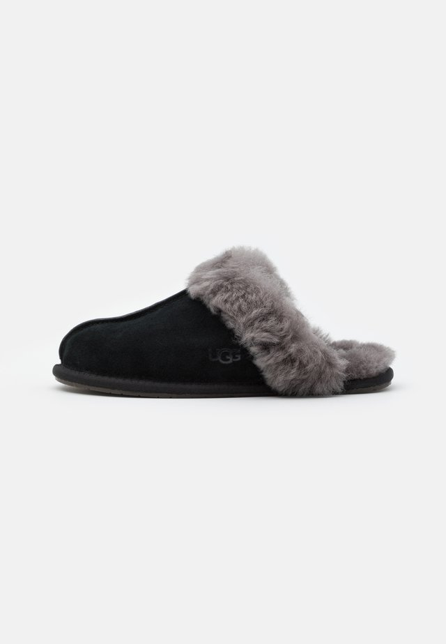 SCUFFETTE  - Chaussons - black/grey