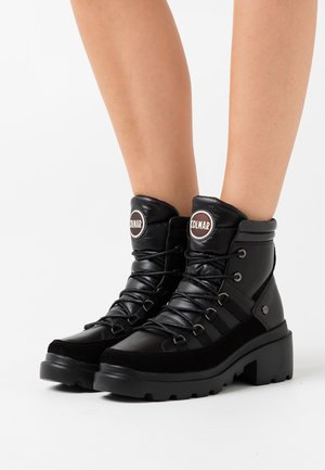 EVIE NEO BOOT - Platform ankle boots - black