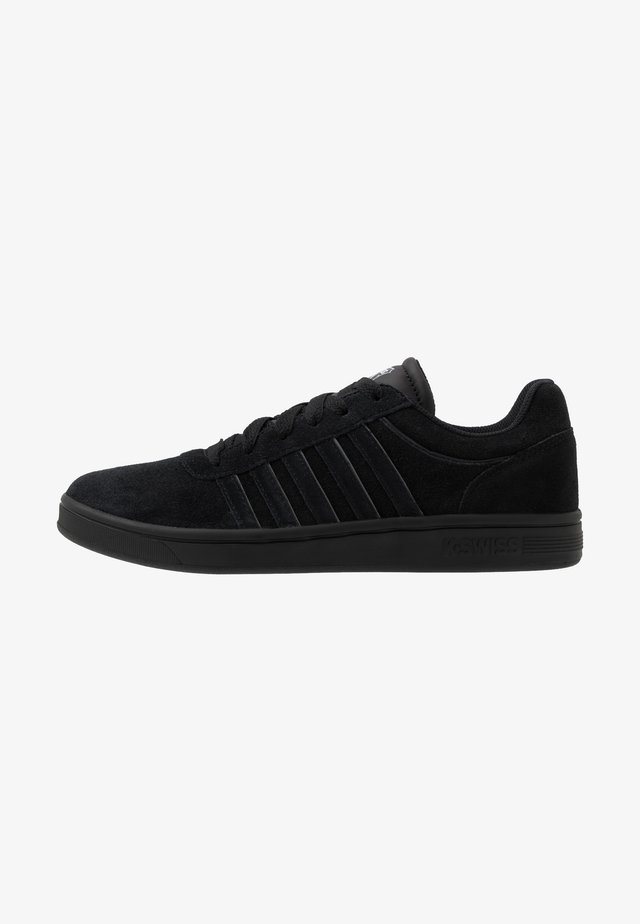 COURT CHESWICK - Sneakers basse - black/charcoal