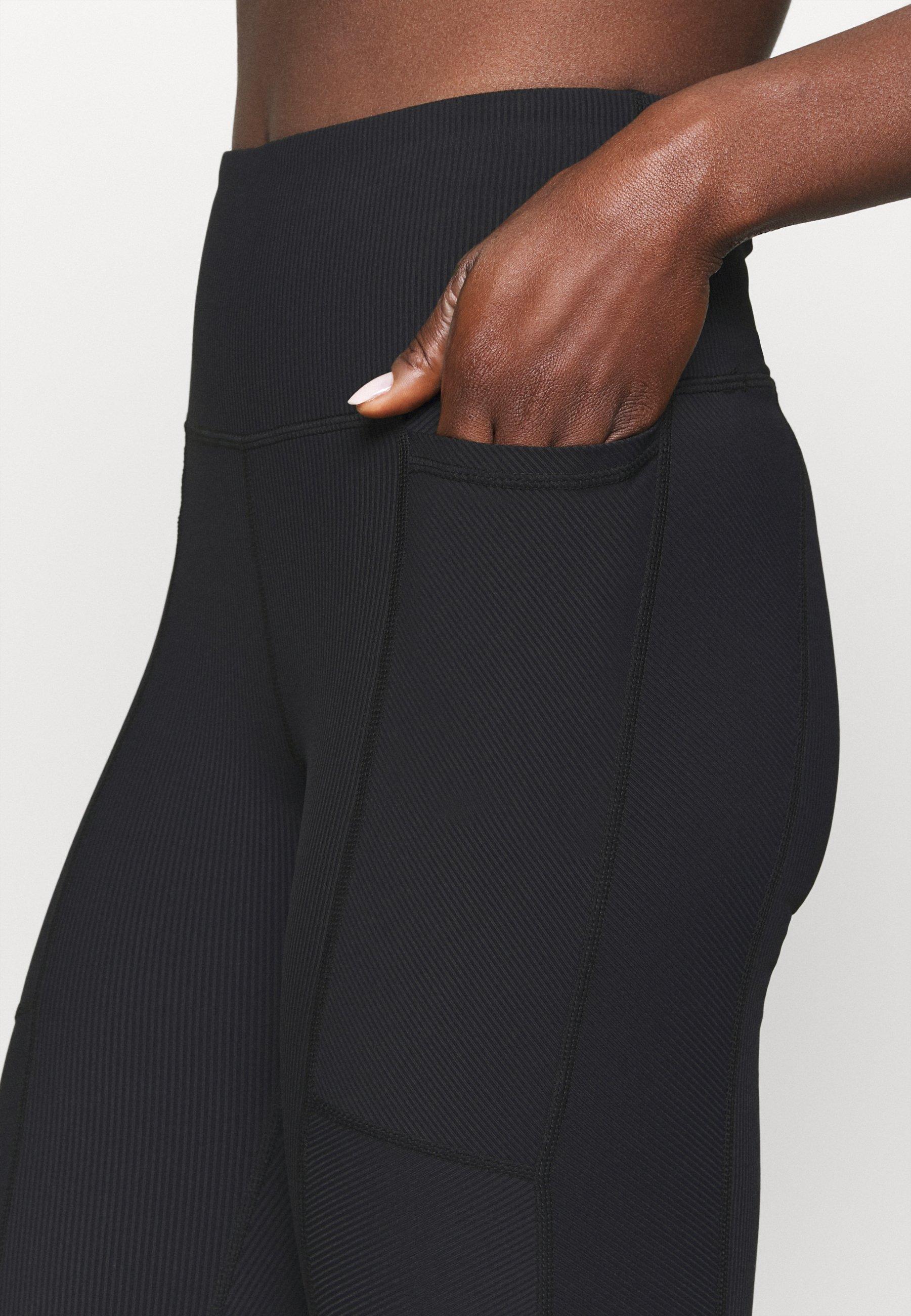 Cotton On Body POCKET 7/8 - Leggings - black Ie6QQ