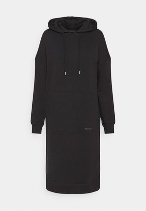 DRESS HOOD - Kjole - black