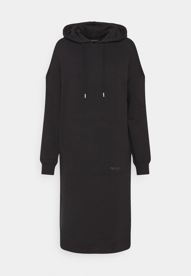 DRESS HOOD - Vapaa-ajan mekko - black