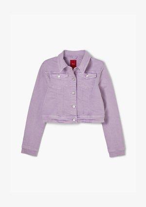 Denim jacket - violet