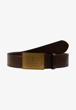 PLO HRTG BLT-CASUAL-SMOOTH LEATHER - Pasek - brown