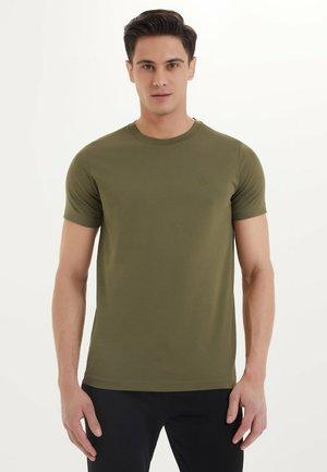 ESSENTIALS  - Basic T-shirt - dark olive