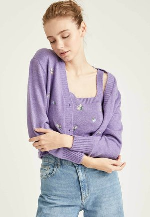 CROPPED FIT  - Vest - purple