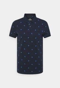 Polo shirt - navy geo