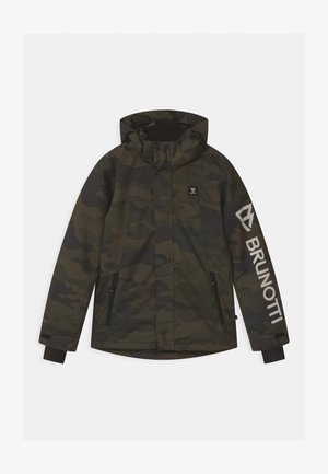 GULLIES BOYS  - Snowboard jacket - pine grey