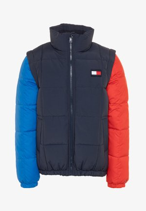 ZIP OFF PADDED  - Winter jacket - blue