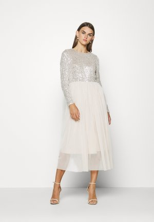 VMMADDIE LONG DRESS - Occasion wear - oatmeal