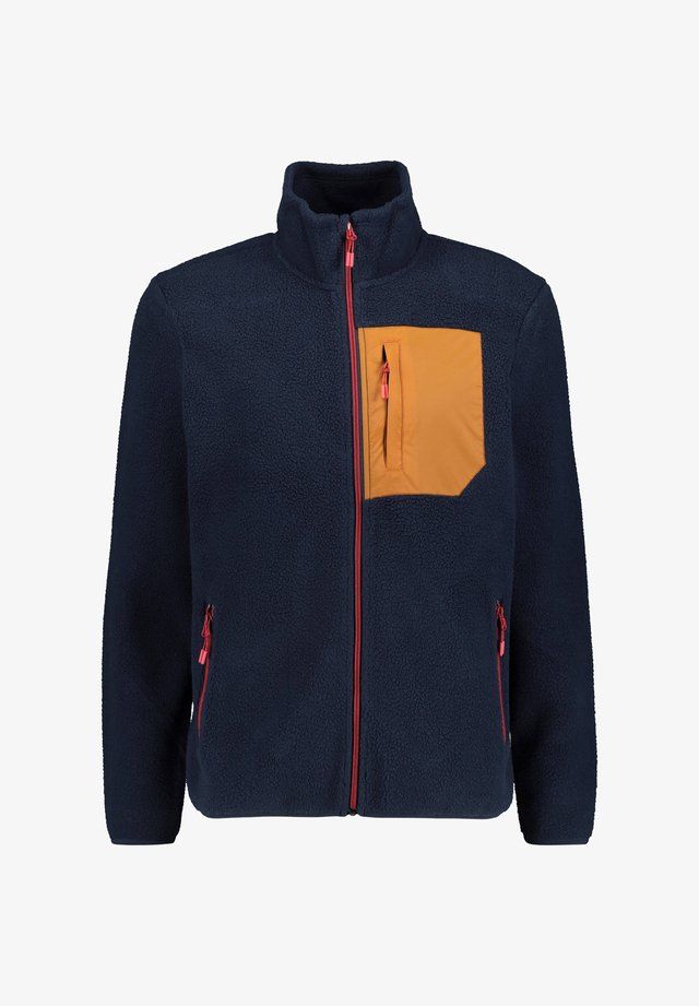 """BORG"" - Fleece jacket - marine"