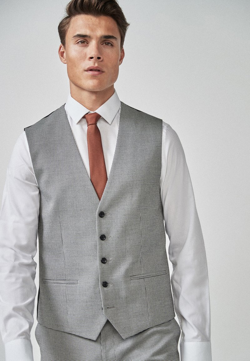 Next - PUPPYTOOTH  - Suit waistcoat - grey