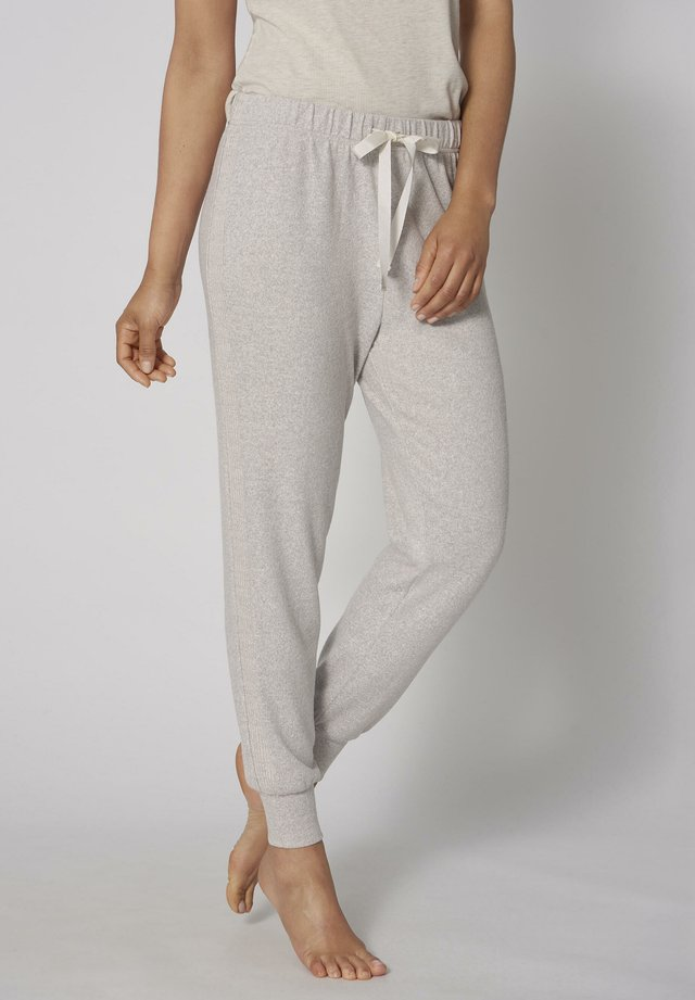 THERMAL COSY TROUSER - Pyjamahousut/-shortsit - skin - dark combination