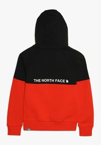 The North Face - DREW PK RGLN PV HD COSMIC BLUE - Jersey con capucha - red/black - 1
