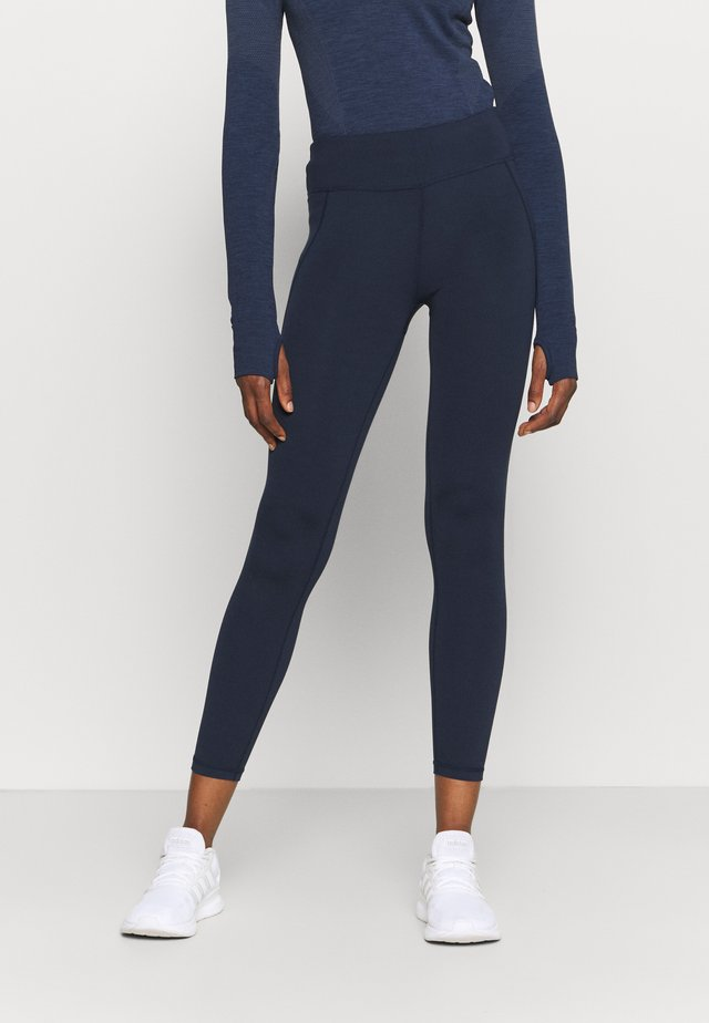 ALL DAY 7/8 LEGGINGS - Leggings - navy blue