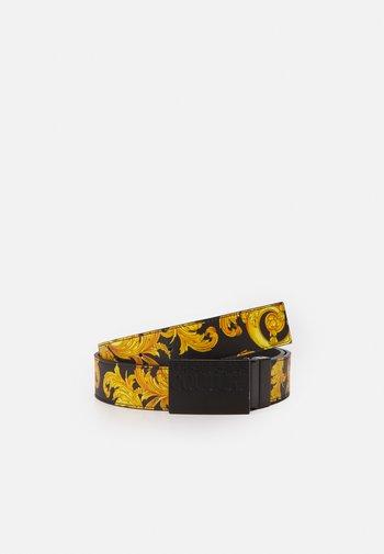 Belt - black/gold